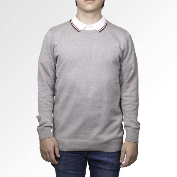 bedrukte pullover met eigen ontwerp