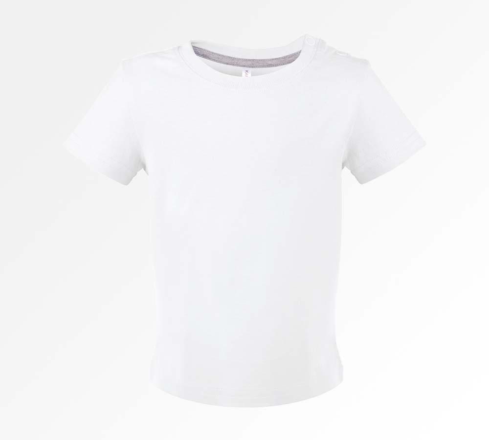 84a3d73ca39a90 Bedrukt baby t-shirt met eigen ontwerp, bedruk je eigen baby T-shirt
