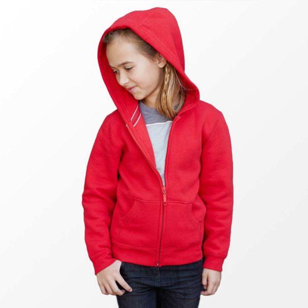 Bedrukt kinder vest met eigen ontwerp