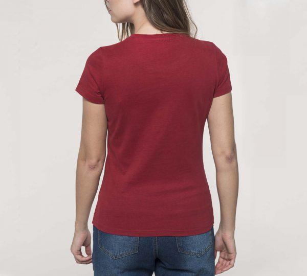 rood vintage shirt bedrukken