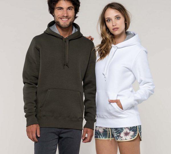 Premium dames hoodie ontwerpen en bedrukken