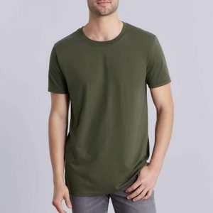 V-hals t shirt bedrukken